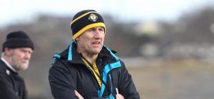 Donegal Minor Manager Shaun Paul Barrett.